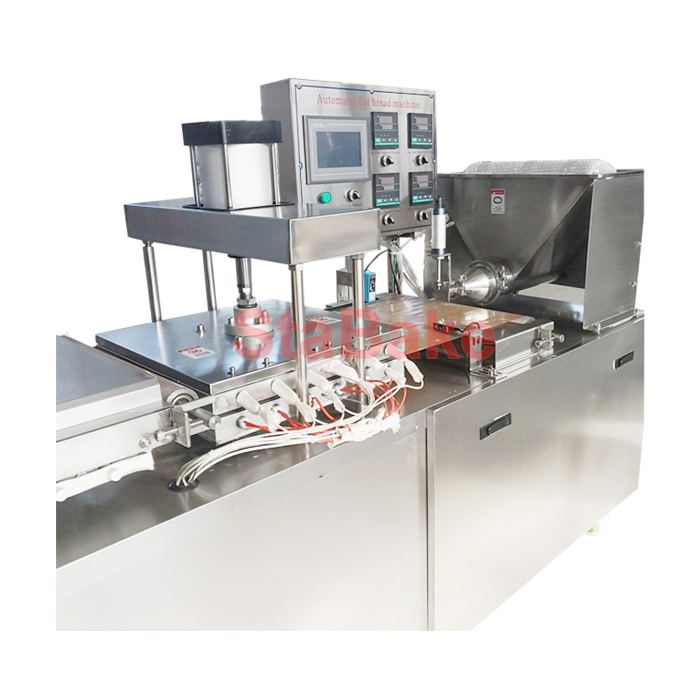 Automatic Tortilla Making Machine Flour tortilla press for Industrial Use