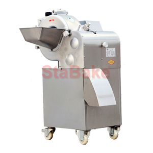 Fruit Vegetable cutting machine automatic vegetable cube cutting dicer dicing Machine