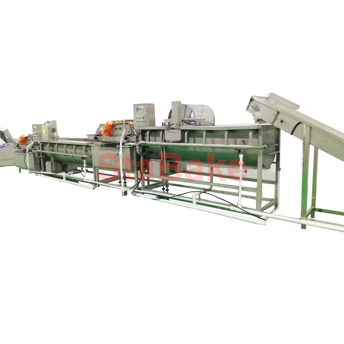 Automatic Salad Vegetable Washing Processing Line
